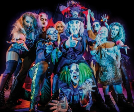"Tuesday 23 January at 7.30pmEarlybird tickets - £19 (regular price £24)Running time approximately 2 hoursAge guide – 16+It stormed into the finals of Britain's Got Talent,now a West End and worldwide hit!Awoken by the Ouija board, a voodoo curse causesdevastation in New Orleans! While the city sleeps, the night creatures rule theunderworld with bizarre circus acts, devilish rock and the darkest of magic. ""Youhave to see this, one day something wil go wrong, and you'll want to say youwere there when it did"" Graham NortonThe Circus of Horrors contains some nudity andlanguage of an adult nature."