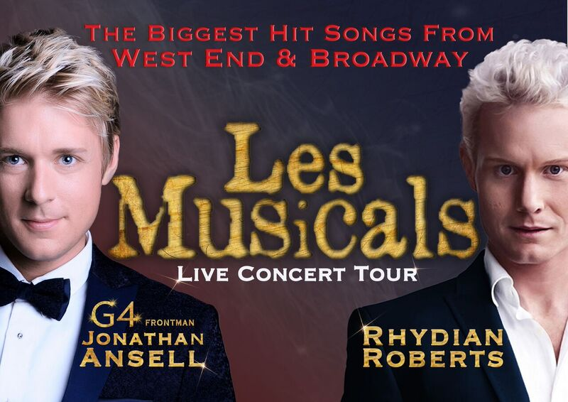 LES MUSICALS WITH JONATHAN ANSELL & RHYDIAN ROBERTS