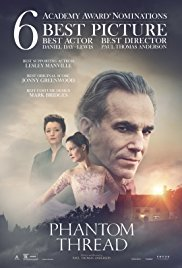 Tuesday 8th May at 7.45pm Wednesday 9th May at 1.30pm & 7.45pmRunning time: 130 minsDirected by Paul Thomas AndersonStarring: Daniel Day-Lewis, Vicky Krieps, Lesley ManvilleSet in 1950's London, Reynolds Woodcock is a renowned dressmaker whose fastidious life is disrupted by a young, strong-willed woman, Alma, who becomes his muse and lover.
